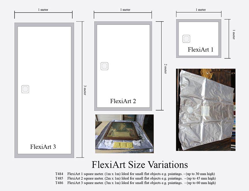 flexiart dimensions