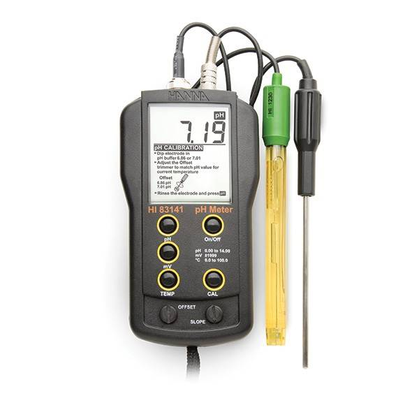 Ph Meter For Chemicals : Portable ph meter ΗΑΝΝΑ hi in situ museum